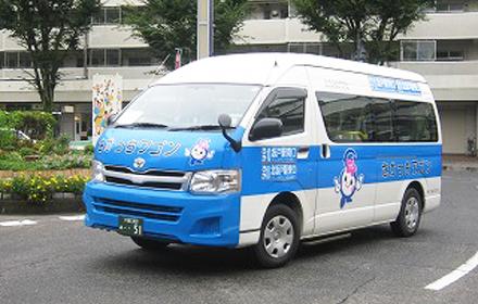 市民バス利用者は鶴ヶ島市の半分以下